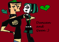Duncan and Gwen love - duncanxgwen-delinquintxgoth photo