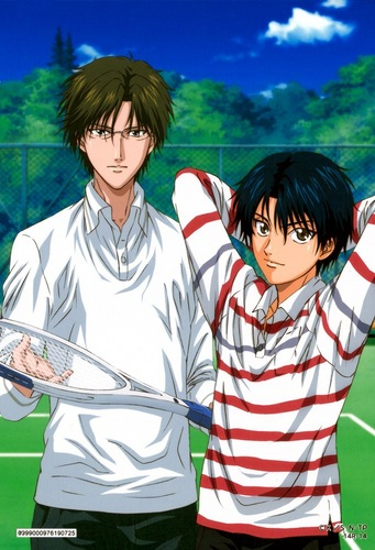 Prince of Tennis wallpaper entitled Echizen & Tezuka
