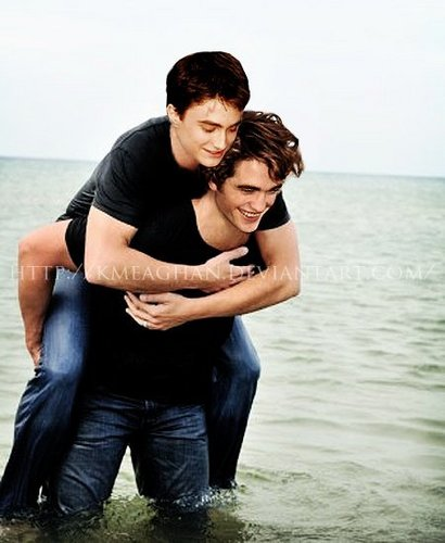 Edward Cullen and Harry Potter