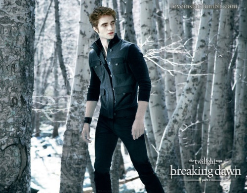 Edward in Breaking Dawn