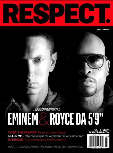 Eminem & Royce Da 5'9 Cover RESPECT