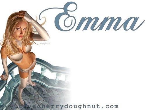 Emma Frost দেওয়ালপত্র