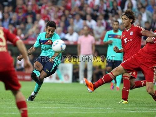 FCB - Bayern (2-0) Audi Cup