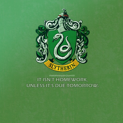 shabiki Art - Slytherin