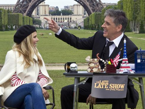 Filming Craig Ferguson in Paris
