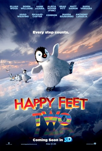 First Happy Feet 2 poster