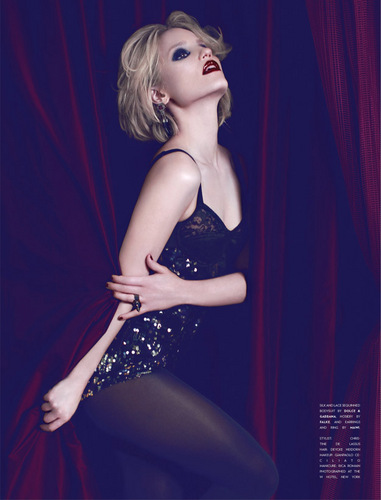 Flaunt Magazine August 2011 - dianna-agron Photo