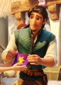 Flynn is hot - tangled screencap