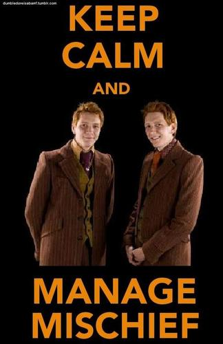 Fred and George ♥