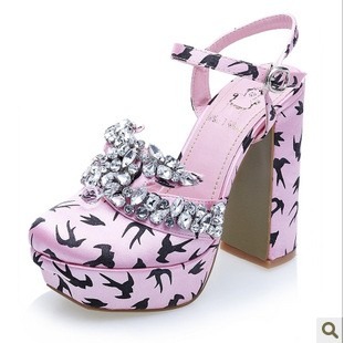 Free shipping Miu golondrina Crystal Shoes from 1baygdstyle.com