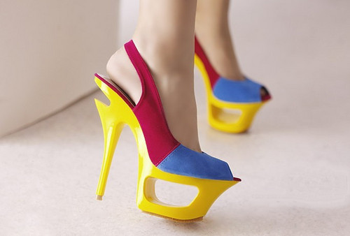Free shipping Womens High Heel चप्पल Shoes from www.1baygdstyle.com