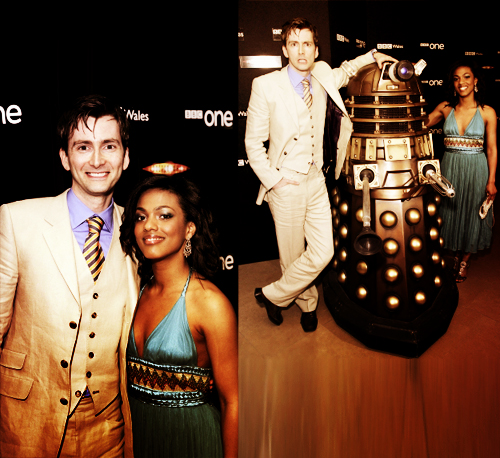 Freema Agyeman & David Tennant