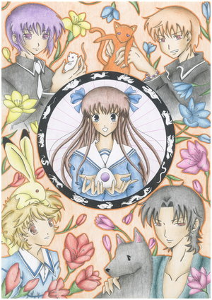 Furuba fanart - fruits-basket Fan Art