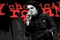 Gerard Way on stage, edited.