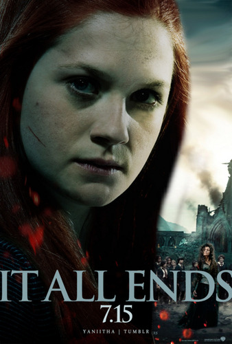 Ginny Weasley HP7 P2 Poster