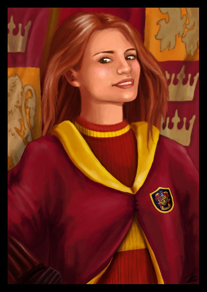 Ginny Weasley Wand Ginny Weasley Fan Art