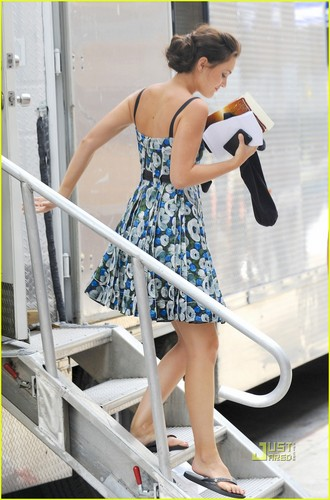 Gossip Girl Set fotos (28 July)