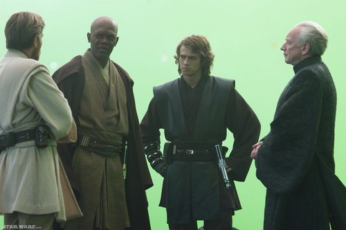 Star Wars Characters wallpaper titled Green Screen