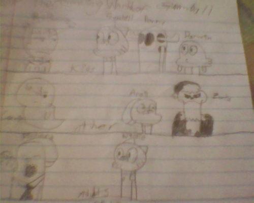 Gumball Drawings