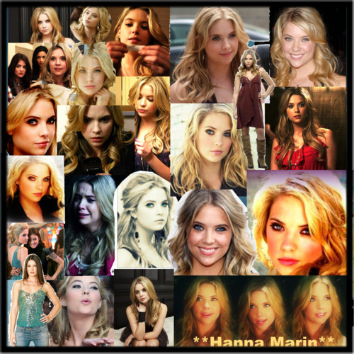 Pretty Little Liars TV دکھائیں پیپر وال called Hanna Marin