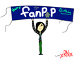 Happy 5th birthday fanpop! By My oc Rayn - fanpop fan art