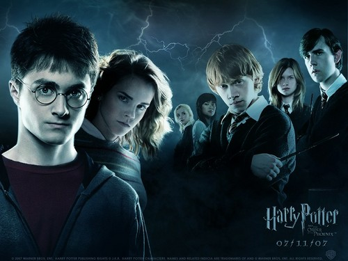 Harry Potter And The Deathly Hallows Part 2 karatasi la kupamba ukuta possibly with a portrait called HarrY Potter. From Young to Old