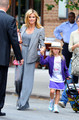 Heidi Klum Leaves Her Hotel (July 25) - heidi-klum photo