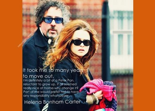 Leyton Family<3 karatasi la kupamba ukuta containing sunglasses titled Helena Bonham Carter ♥