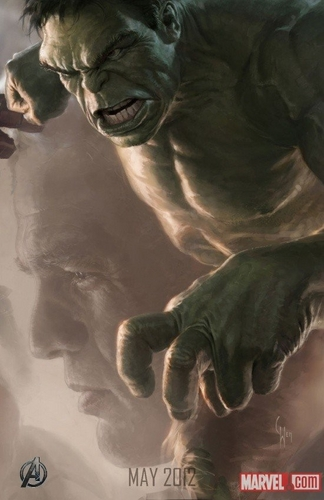 Hulk Character Poster For The Avengers Revealed!