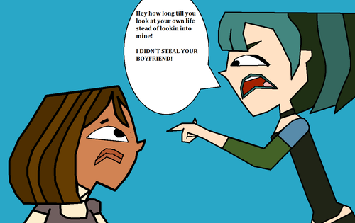TDI's GwenxDuncan wallpaper with anime titled I Didn't Steal Your Boyfriend