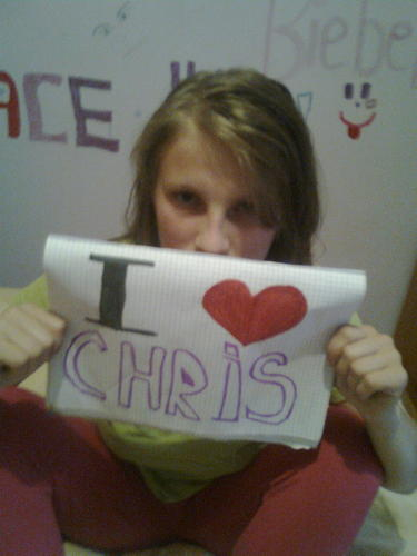 I lOVE CHRIS !!!!