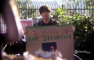 I voted for Kat Stratford