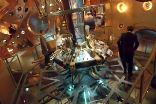Inside the new TARDIS