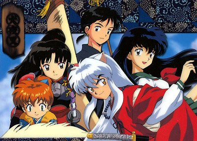Inuyasha and vrienden