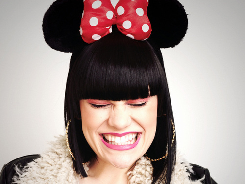 Jessie J wallpaper called JESSIE J :P