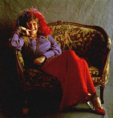 Janis Joplin mga litrato