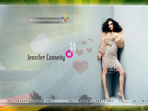 Jennifer Connelly wallpaper possibly containing a portrait entitled Jennifer Connelly