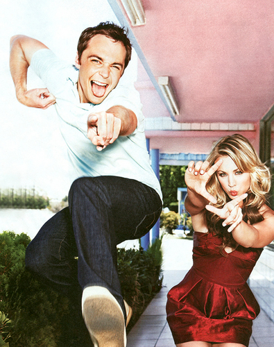 Jim Parsons & Kaley Cuoco - the-big-bang-theory Photo