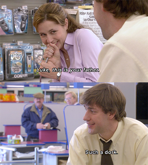 pam and michael relationship