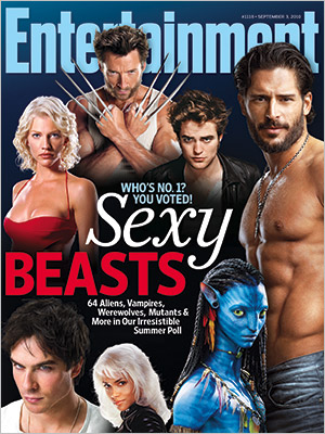 Joe Manganiello on the cover of Entertainment Weekly Magazine