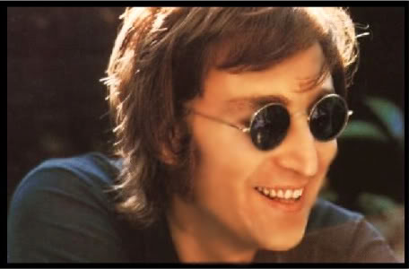John Lennon 바탕화면 with sunglasses titled John Lennon