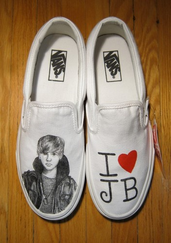 Justin Bieber shoes