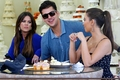 Kardashian Family Shop For A Wedding Cake At Hansen's- 7/29/11