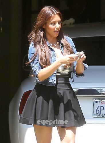 Kim Kardashian in Beverly Hills.