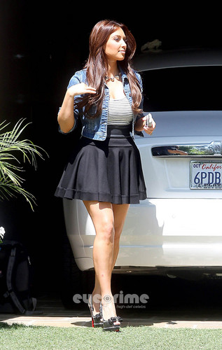Kim Kardashian in Beverly Hills.