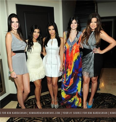 Kim & Kris' Engagement Party Hosted By Khloe Kardashian - 6/2011