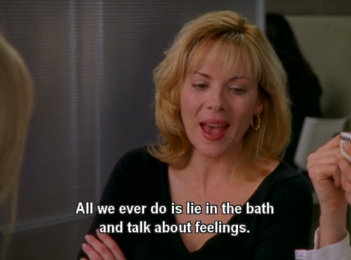 Kim as Samantha Jones