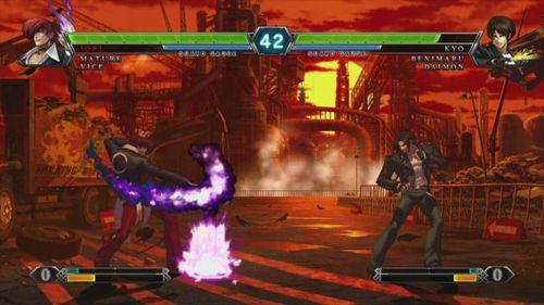 King of Fighters XIII | '98 Iori Yagami vs Kyo Kusanagi