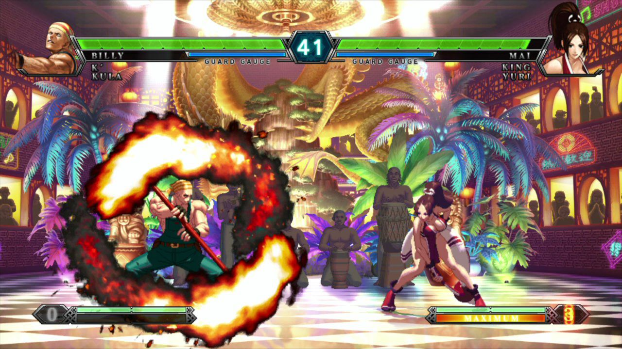 The King of Fighters King of Fighters XIII | Billy Kane vs Mai