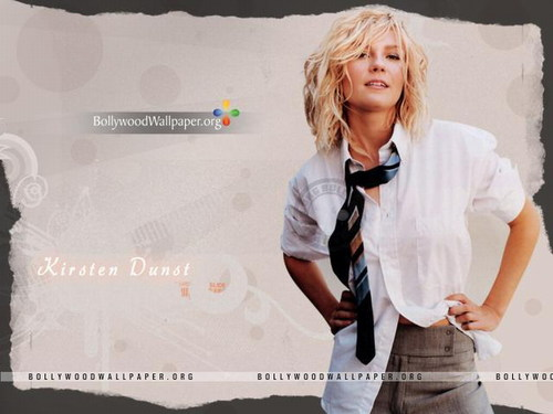 Kirsten Dunst wallpaper containing a well dressed person and a portrait titled Kirsten Dunst